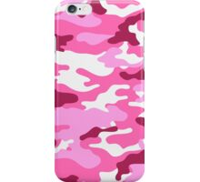 Camouflage (Red) iPhone Case/Skin