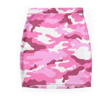 Camouflage (Red) Mini Skirt