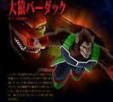 Bardock Great Ape by Michael-Eads