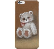 Teddy on toned paper iPhone Case/Skin