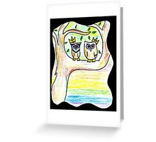 Owl Queens Greeting Card