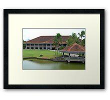 Mt. Malarayat Golf Course Function Hall Framed Print