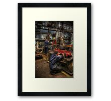 Metal Works Framed Print