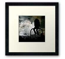 Holy Smoke ! Framed Print