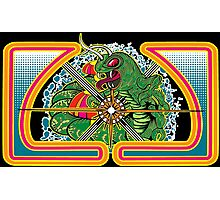 Classic Centipede Woodcut Photographic Print
