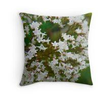 A-Maze-ing Flowers Throw Pillow