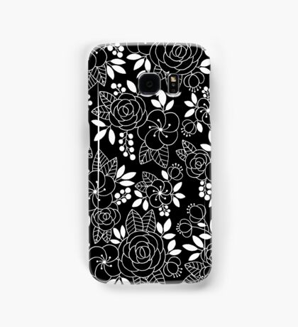 Rosalie Black Drawing with Ink Samsung Galaxy Case/Skin