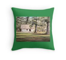 The Old Spanish House Throw Pillow