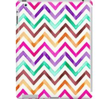 Chevron Multicolor Watercolor iPad Case/Skin