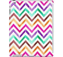 Chevron Multicolor Watercolor iPad Case/Skin