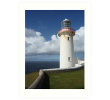 Arranmore lighthouse Art Print