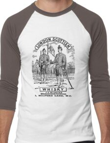 London Scottish Whisky Men's Baseball ¾ T-Shirt