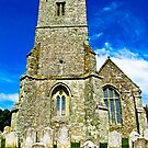A Different View of All Saints Church.... Godshill Isle of Wight by Lyndy
