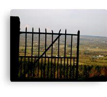 Gateway to the Irish Countryside Canvas Print