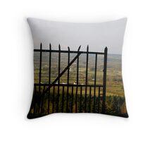 Gateway to the Irish Countryside Throw Pillow