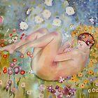 Woman in the Garden of Klimpt by Celeste Schor