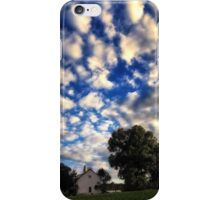 Blue Sky and Clouds Day iPhone Case/Skin