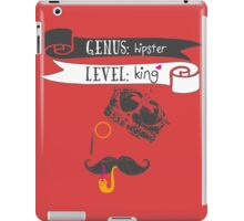The Hipster King iPad Case/Skin