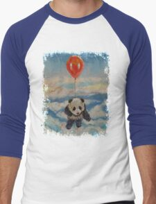 Balloon Ride Men's Baseball ¾ T-Shirt