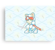 Samurai Pizza Cats- Speedy Cerviche Canvas Print