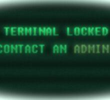 Fallout- Terminal Locked Sticker