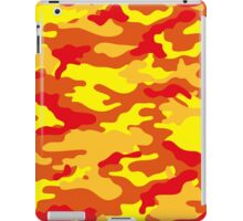 Camouflage (Fire) iPad Case/Skin