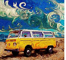 Kombi of Summer 72' by Daniel Watts