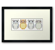 Which one is different?  Framed Print