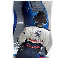 Peugeot Sport team Poster