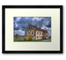 Old Slovenian house Framed Print