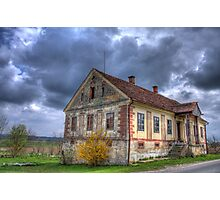 Old Slovenian house Photographic Print