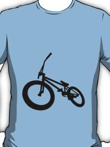 BMX Bike Silhouette Black  T-Shirt