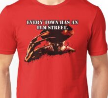 Every town has an Elm Street Unisex T-Shirt