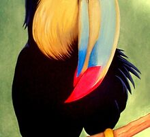 TALL TOUCAN by OrsiniArts