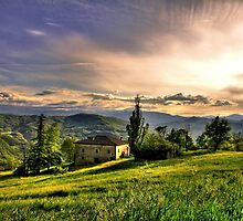 Tramonto a Rosola - (zocca modena italy) -_0786_ by primo masotti