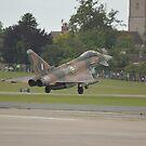 Typhoon Landing at RNAS Yeovilton by Andy Jordan