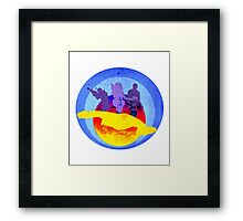 Space Bounty Hunters Framed Print