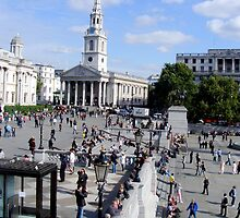 View From the Fourth Plinth by Blackbird76