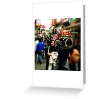 Mong Kok Greeting Card