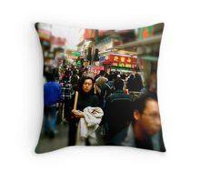 Mong Kok Throw Pillow