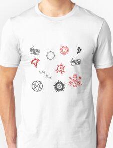 Supernatural Sigils and Symbols T-Shirt
