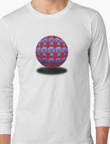 Skull Sphere Long Sleeve T-Shirt