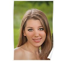A Captivating Smile Poster