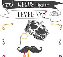 The Hipster King 2.0 by Rouages Design