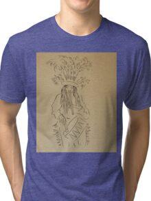 psychedelic drummer Tri-blend T-Shirt