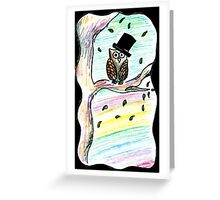 ILY Owl Greeting Card