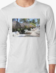 Polynesian Vacation Resort Long Sleeve T-Shirt