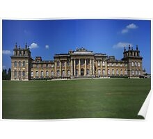 Blenheim Palace South Front Poster