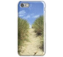 Sandy Path to the Beach iPhone Case/Skin
