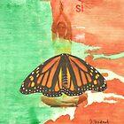 Si mariposa by Della  Badart